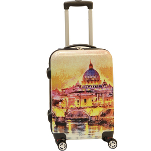 Wagon R Venice 4 Wheel Hard Trolley 20inch