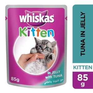 Whiskas® Kitten Tuna in Jelly Pouch 85g