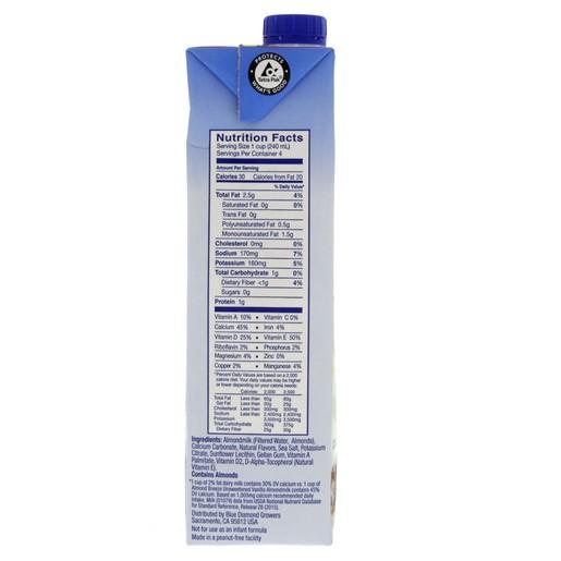 Almond Milk Unsweetened Vanilla 946ml