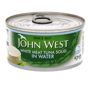 John West White Meat Tuna Solid In Water 170g