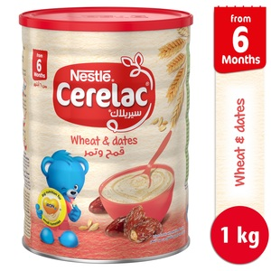 Nestle Cerelac Wheat & Dates 1kg