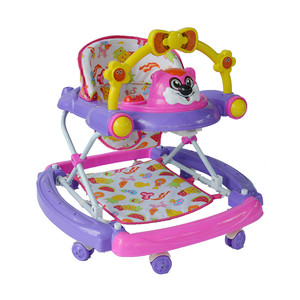 First Step Baby Walker K-711 Purple