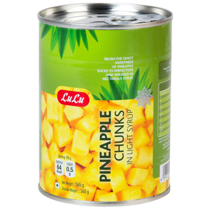 Lulu Pineapple Chunks In Light Syrup 565g