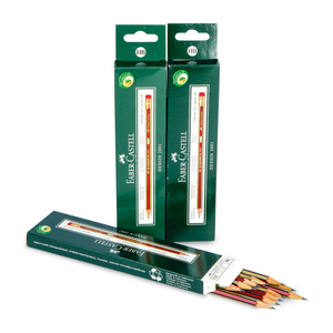 Faber-Castell HB Pencil 12's x 3 Pack