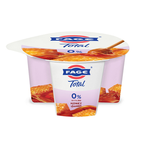 Fage Total 0% Fat Free Yoghurt With Honey 170g