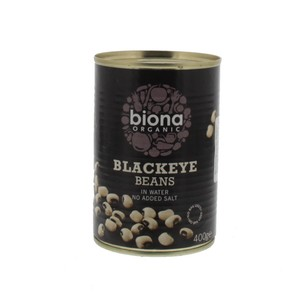 Biona Organic Black Eye Beans in Water 400g