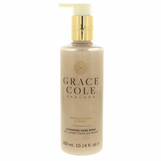 Grace Cole Cleansing Hand Wash Vanilla Blush & Peony 300ml