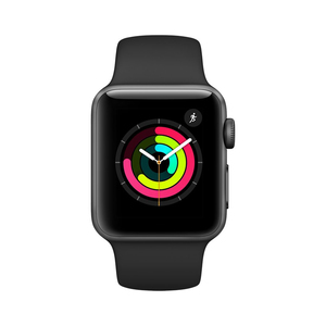 Apple Watch Series 3 MTF02LL 38mm Space Gray Aluminium Case with Black Sport Band