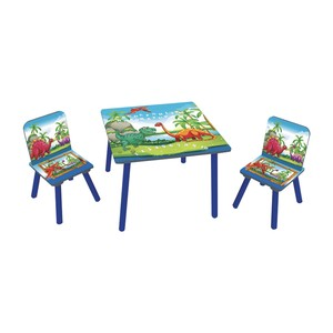 Maple Leaf Home Kids Table + 2 Chair 8001 Blue
