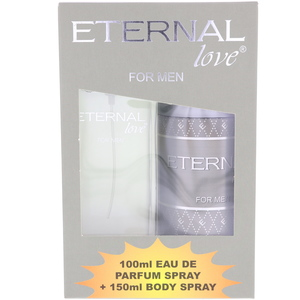 Eternal Love Perfume For Men 100ml + Deodorant 150ml Assorted