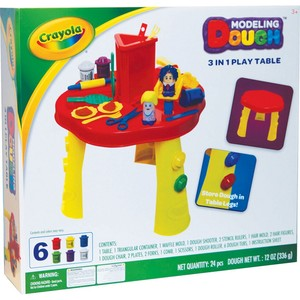 Crayola Modeling Dough 3in1 Play Table A11032 (Color may vary)