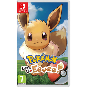 Nintendo Switch Pokemon: Let's Go - Eevee!