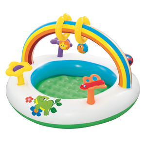 Best Way Rainbow Activity Pool 52239