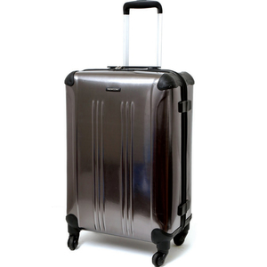 Newcom 4 Wheel PET Hard Trolley 18inch