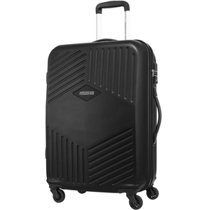 American Tourister Trillion 4 Wheel Hard Trolley 68cm Black