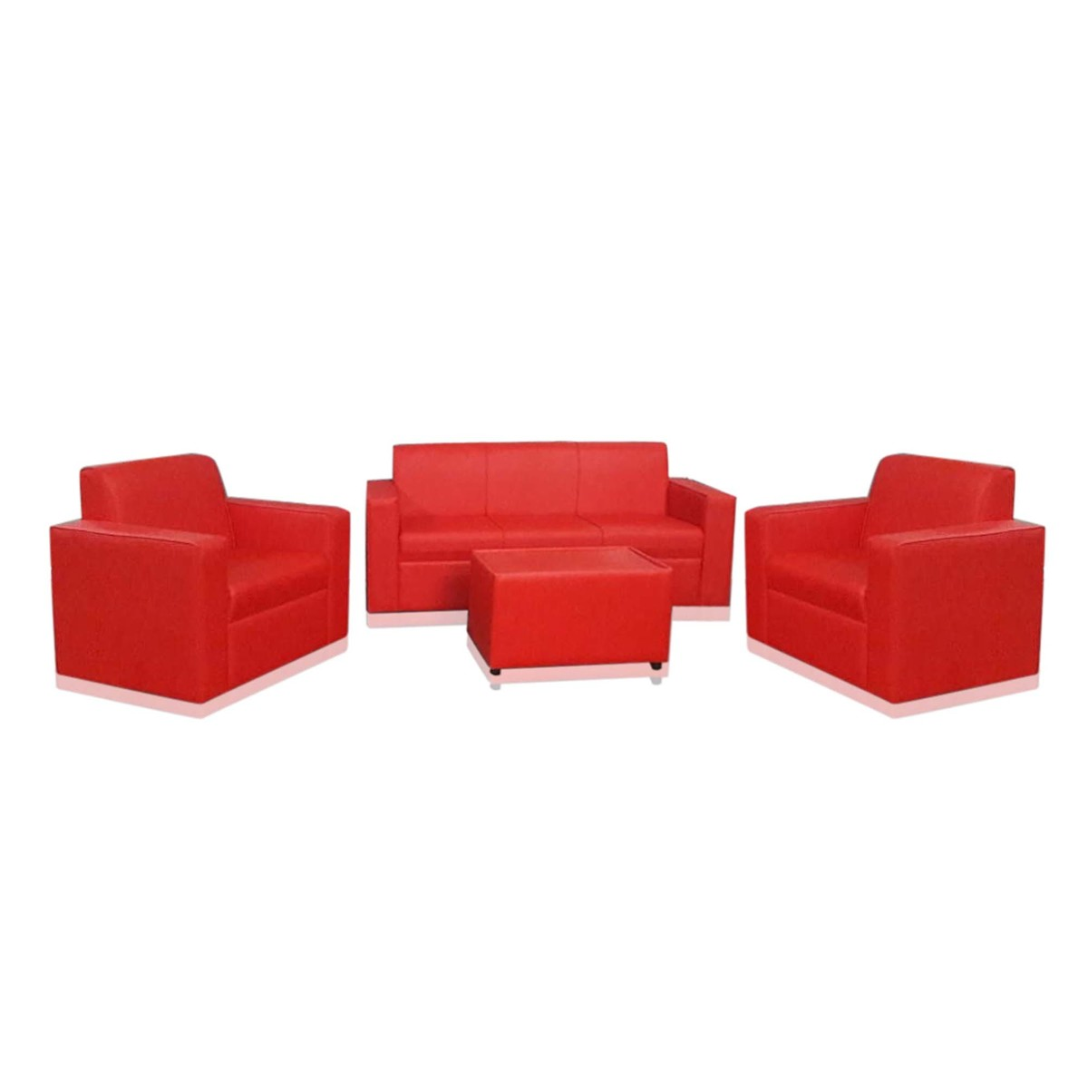 Excellent Buy Design Plus Sofa Set 5 Seater 3 1 1 Ml04 Red Online Unemploymentrelief Wooden Chair Designs For Living Room Unemploymentrelieforg