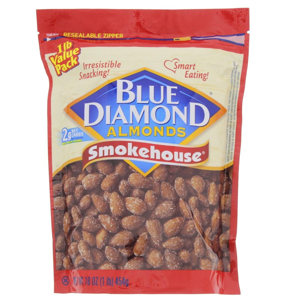 Blue Diamond Smokehouse Almonds 454g