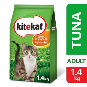 Kitekat Tuna Dry Cat Food 1.4kg