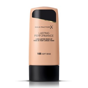 Max Factor Lasting Performance Liquid Foundation 105 Soft Beige 35ml