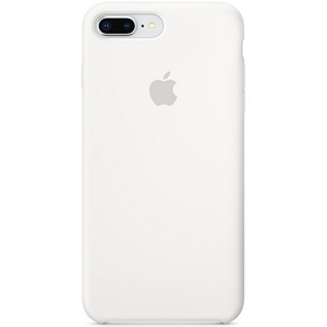 Apple iPhone 8 Plus Silicone Case White