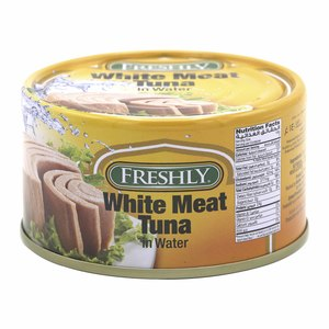 Freshly White Meat Tuna In Water  200g