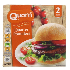 Quorn Meat Free Quarter Pounder 227g