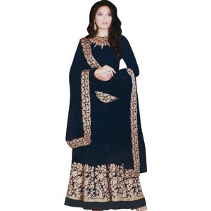 Women's Churidar Material Blue
