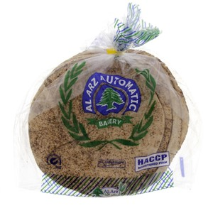 Al Arz Lebanese Brown Bread Medium 5Pcs