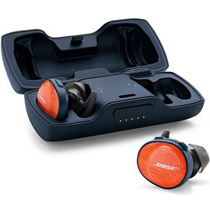 Bose SoundSport Free Truly Wireless Sport Headphones Bright Orange
