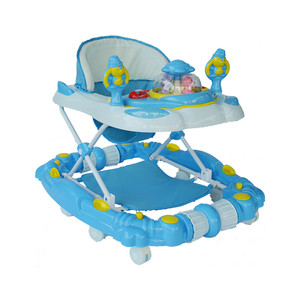 First Step Baby Walker K-715 Blue