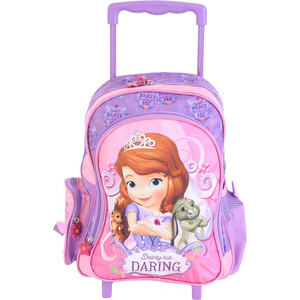 Sofia the First School Trolley FK16332 14inch
