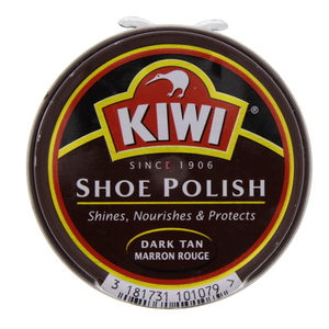 Kiwi Shoe Polish Dark Tan 50 Ml