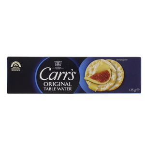 Carr's Original Table Water Cracker  125g