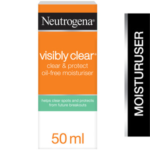 Neutrogena Face Cream Visibly Clear Spot Proofing Oil-Free Moisturiser 50ml