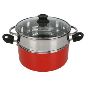 Chefline Non Stick Steamer 24cm Assorted coluors