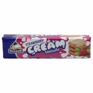 Deemah Strawberry Cream Biscuits 110g