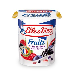 Elle & Vire Fruits Yogurt Mixed Berries 125g