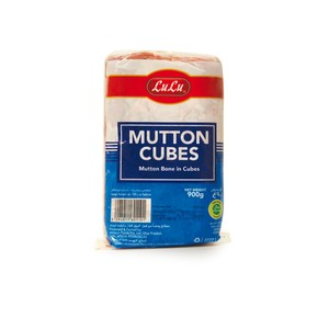 Lulu Frozen Mutton Bone in Cubes 900g