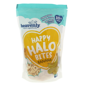 Heavenly Happy Halo Bites banana 60g