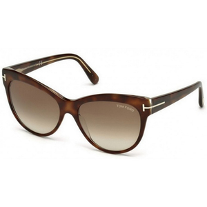 Tom Ford Women's Cat Eye Sunglass 043056F