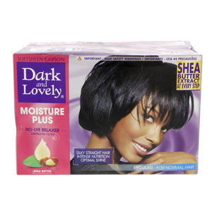 Dark And Lovely Moisture Plus No-Lye Relaxer 1 Packet