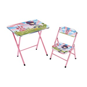 Home Style Study Table + Chair KT0248 Pink