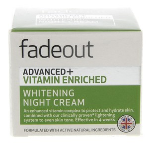 Fade Out Advanced+ Vitamin Enriched Whitening Night Cream 50ml