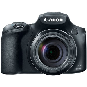 Canon PowerShot Digital Camera SX60HS 16.1MP Black