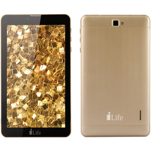 "I-Life Tablet K4700W 7"" 16 GB,4G Wifi White Gold"