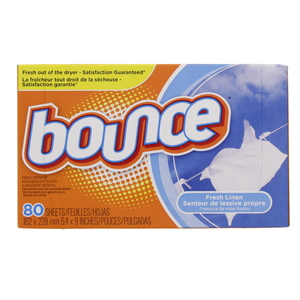 Bounce Fabric Softener Fresh Linen Scent 80 Sheets