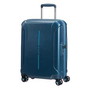 American Tourister Technum Spinner 4Wheel Hard Trolley 55cm Metallic Blue