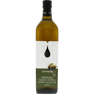 Clearspring Organic Italian Extra Virgin Olive Oil 1Litre