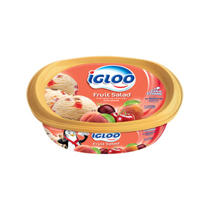 Igloo Ice Cream Fruit Salad 1Litre