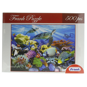 Frank Puzzles 500 Pieces Assorted